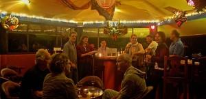 Social Hour at Boquete Garden Inn