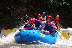 Rafting Boquete Panama adventure