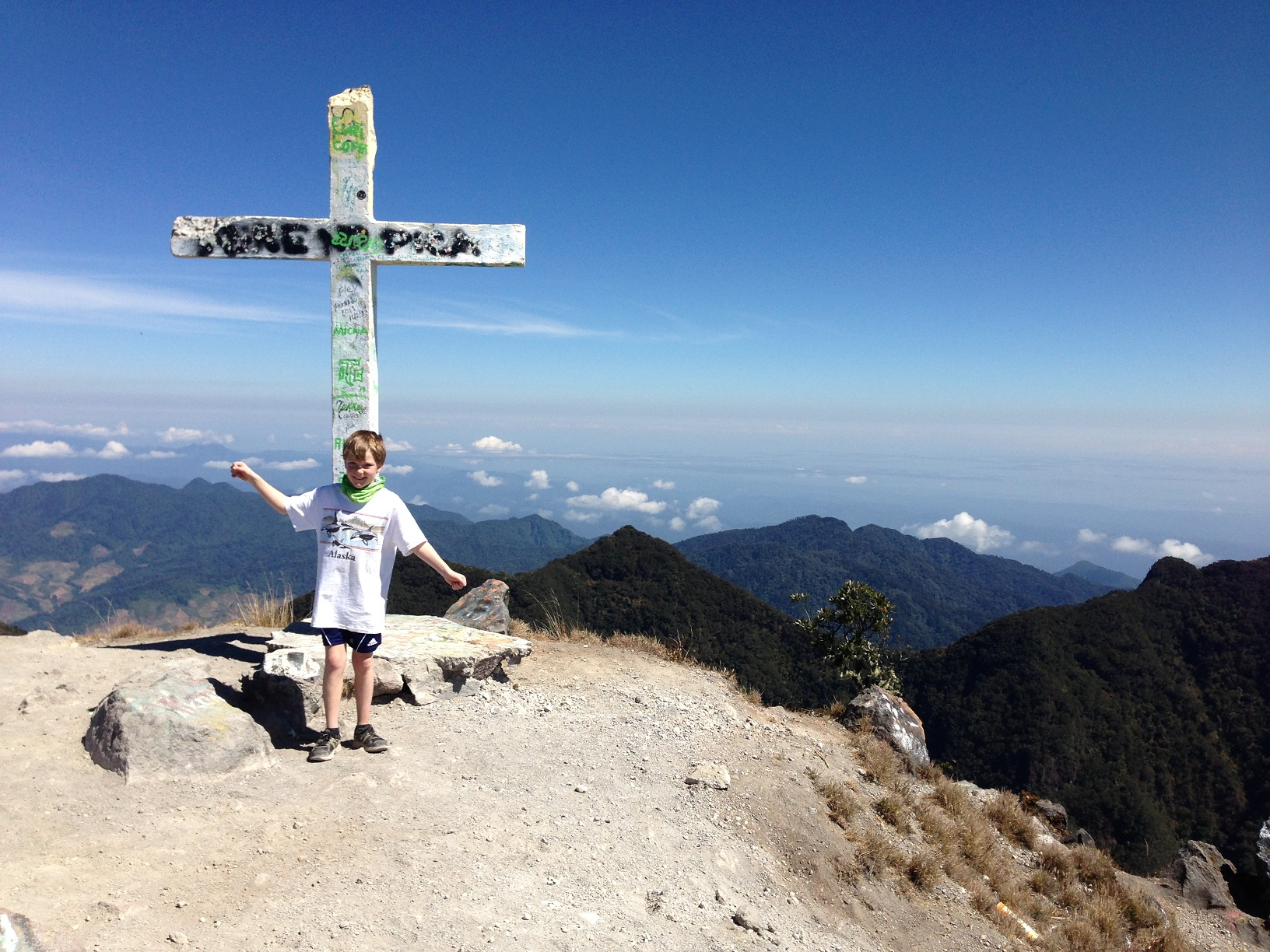 Hiking Volcan Baru – with the Mighty Quinn! | Boquete ...